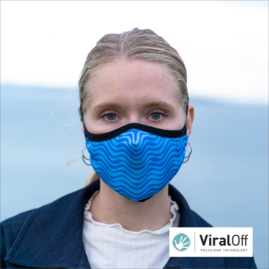 LuckeFit Mask -infused with ViralOff®