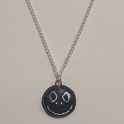 Skelington Head Necklace