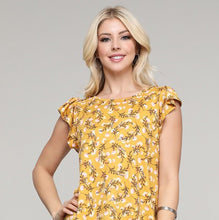 Load image into Gallery viewer, Round Neck Ruffle Blouse