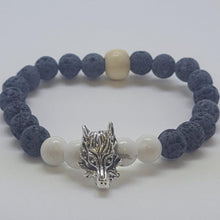 Load image into Gallery viewer, Animal Lava Beaded Bracelets