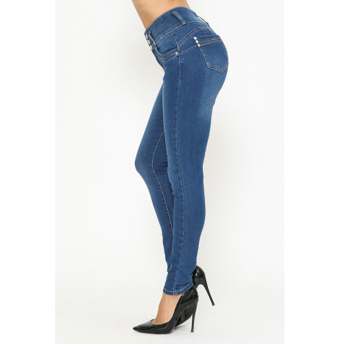 Sofie Solid Skinny Jeans