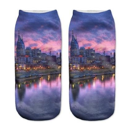 Sunset City Socks