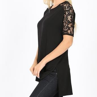 Plus Luxe Offshore Lace Sleeve