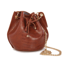 Load image into Gallery viewer, Snakeskin Bucket Bag