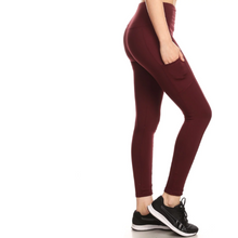 Load image into Gallery viewer, Full Length Fleece Lined Sports Leggings