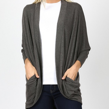 Load image into Gallery viewer, Cocoon Wrap Cardigan