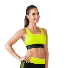 Load image into Gallery viewer, Racer-Back Sports Bra