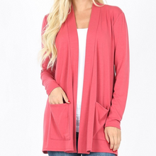 Load image into Gallery viewer, Slouchy Pocket Cardigan