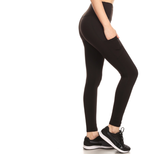 Full Length Fleece Lined Sports Leggings