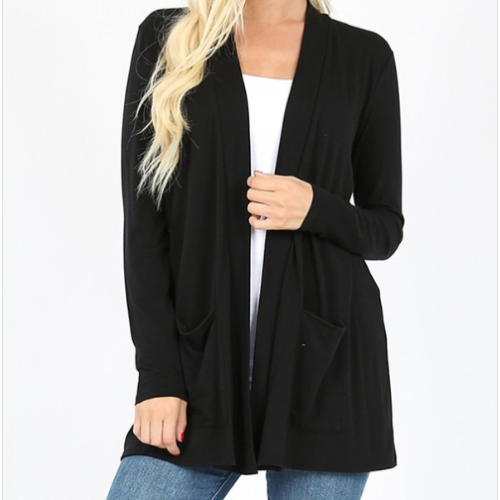 Plus Slouchy Cardigan
