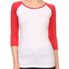 Load image into Gallery viewer, Baseball Raglan Tee
