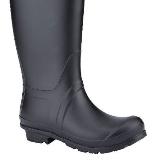 Tall Rubber Boots With Detail