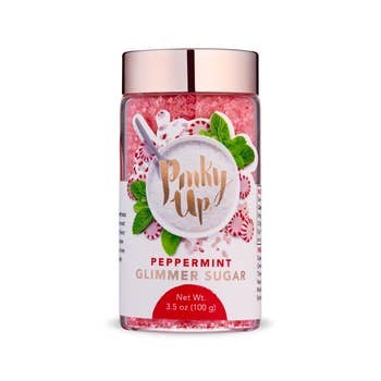 Peppermint Glimmer Sugar