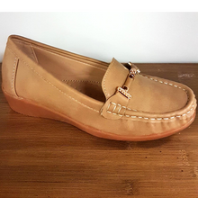 Load image into Gallery viewer, Khaki Loafer Style Flats
