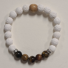 Load image into Gallery viewer, Lava Beaded Bracelet