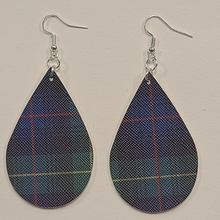 Load image into Gallery viewer, Plaid Faux Leather Earrings
