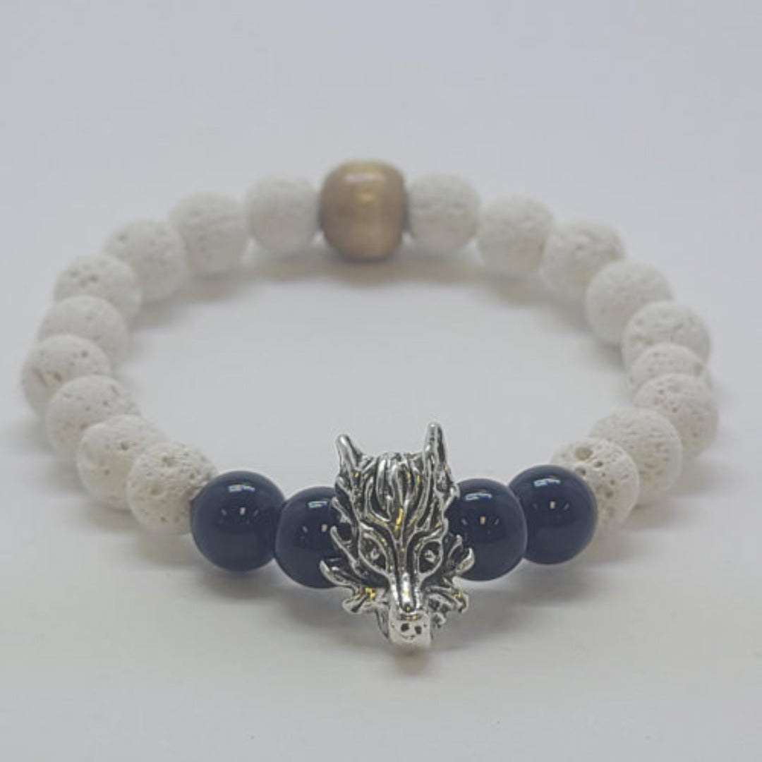 Animal Lava Beaded Bracelets