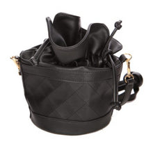 Load image into Gallery viewer, Structured Quilted Bucket Bag