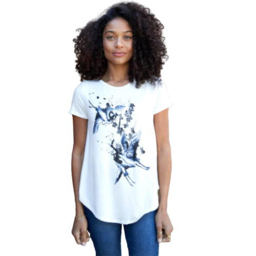 Crane Birds Graphic Tee