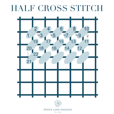 VIDEO How-To: Half-Cross Stitch