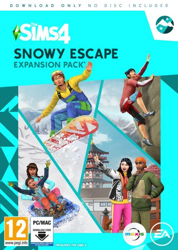 The Sims 4 Snowy Escape Expansion Pack (PC)