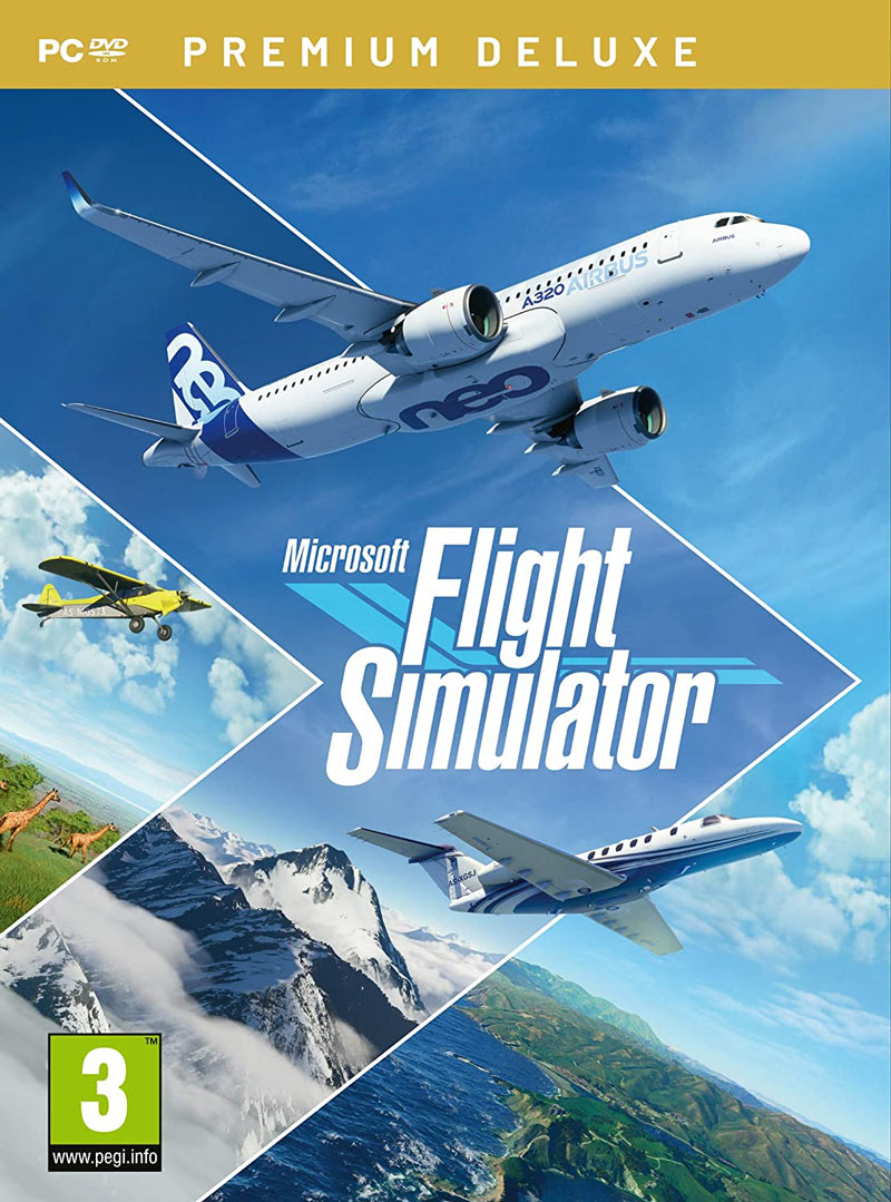 Microsoft Flight Simulator 2020 Premium Deluxe Edition (PC)