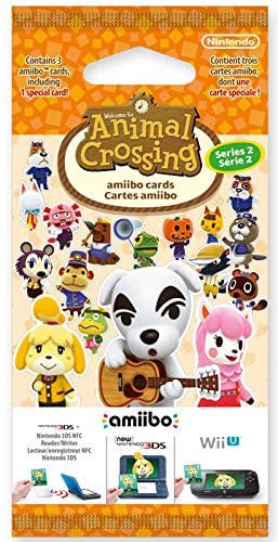 Animal Crossing Cards (3pcs) - Volume 2 (amiibo)