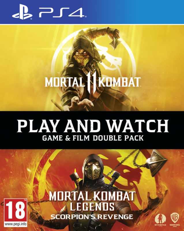 Mortal Kombat Scorpions Revenge Bundle (PS4)