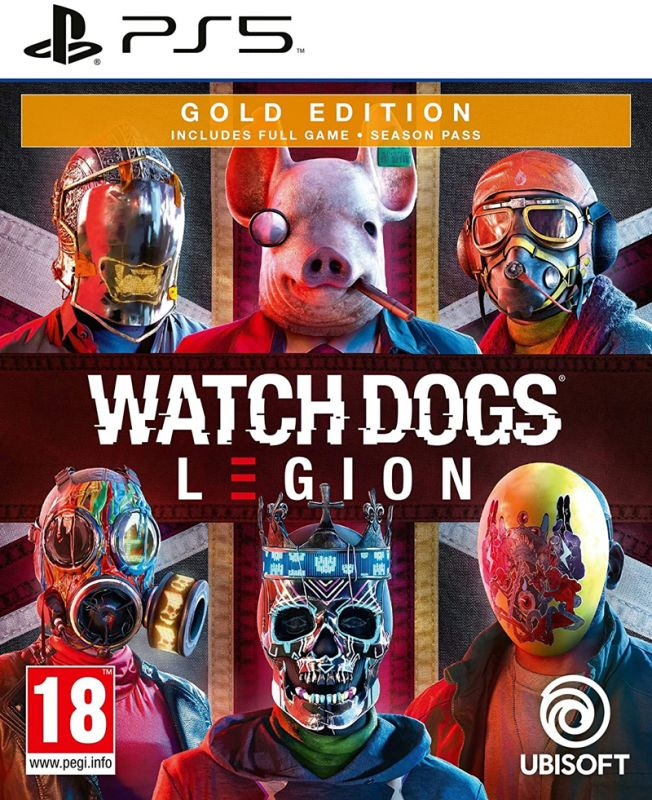 Watch Dogs Legion Gold Edition (PS5)