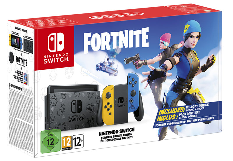Nintendo Switch Fortnite Special Edition Console Bundle (Switch)