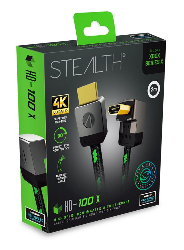 STEALTH HD-100V Premium HDMI Cable (2m)