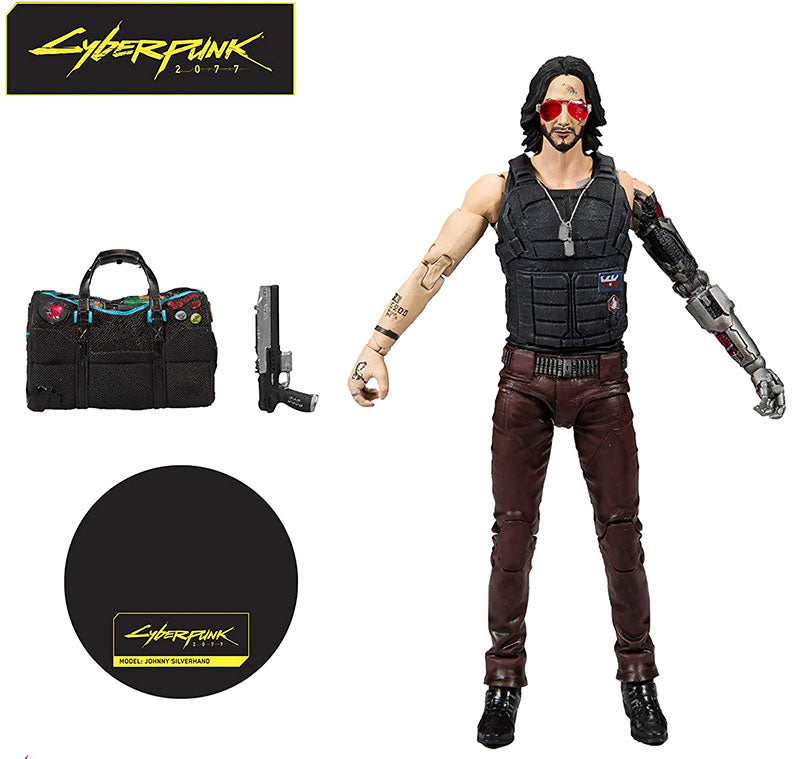 McFarlane Toys Cyberpunk 2077 Johnny Silverhand Variant 18cm Action Figure