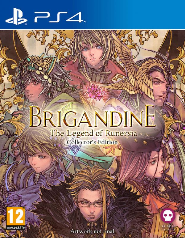 Brigandine: The Legend of Runersia - Collector's Edition (PS4)