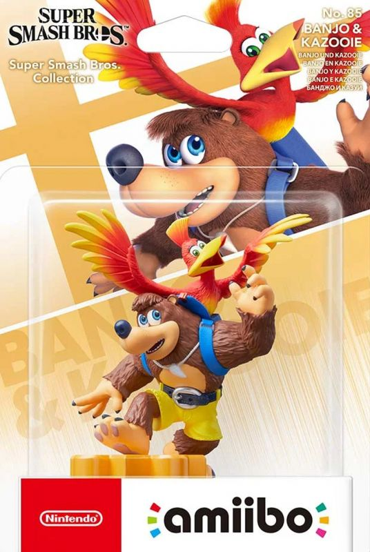 Amiibo Banjo & Kazooie - Super Smash Bros Collection (Amiibo)