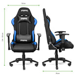 iProgaming Gaming Chair - Desk and Office Swivel Chair for Gamers