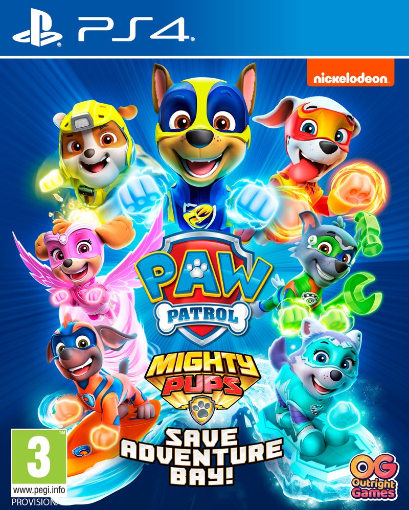 Paw Patrol Mighty Pups Save Adventure Bay! (PS4)