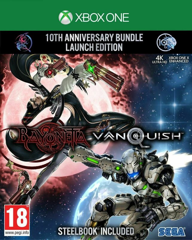 Bayonetta & Vanquish 10th Anniversary Bundle (Xbox One)