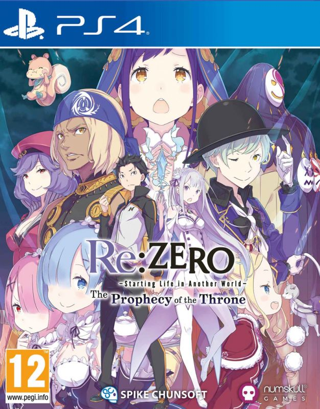 Re:ZERO - The Prophecy of the Throne (PS4)