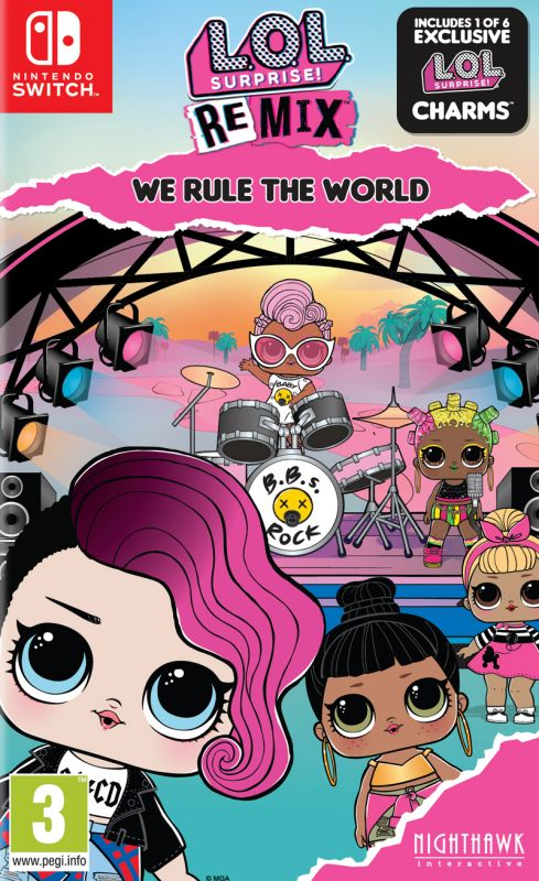 L.O.L Surprise! - Remix Edition: We Rule The World (Switch)