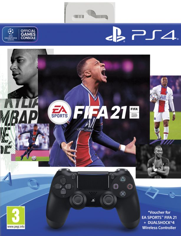 FIFA 21 & DualShock 4 Controller Bundle (PS4)