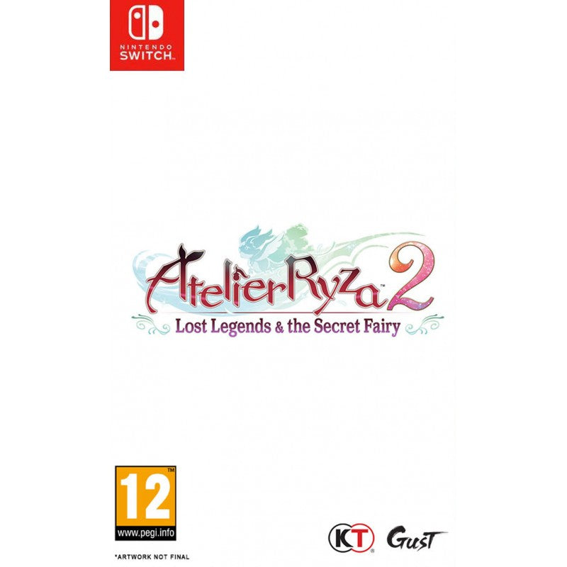 Atelier Ryza 2 Lost Legends & The Secret Fairy (Switch)