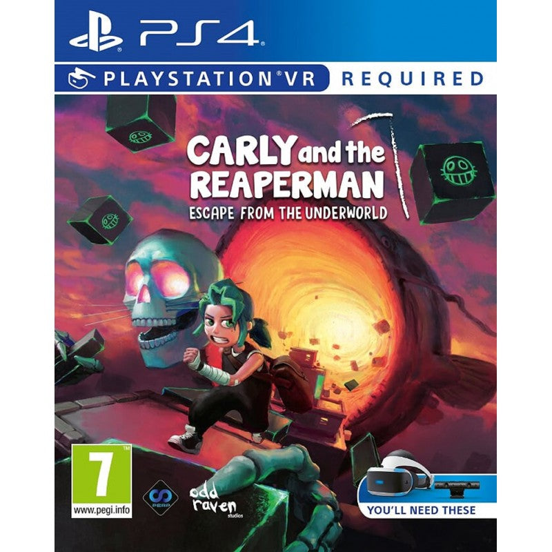 Carly And The Reaperman: Escape From The Underworld (PS4 PSVR)
