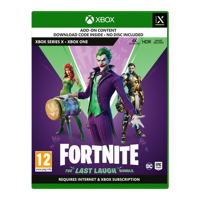 Fortnite 'The Last Laugh' Bundle (Xbox One)