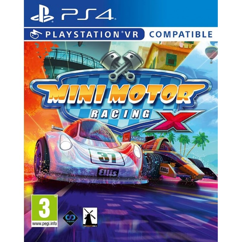 Mini Motor Racing X (PS4 PSVR)