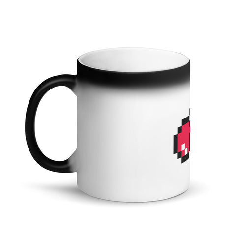 Matte Black GameByte Magic Mug