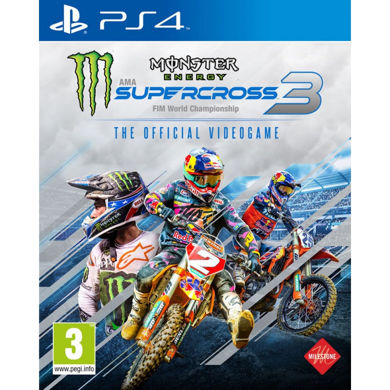 Monster Energy Supercross - The Official Videogame 3 (PS4)
