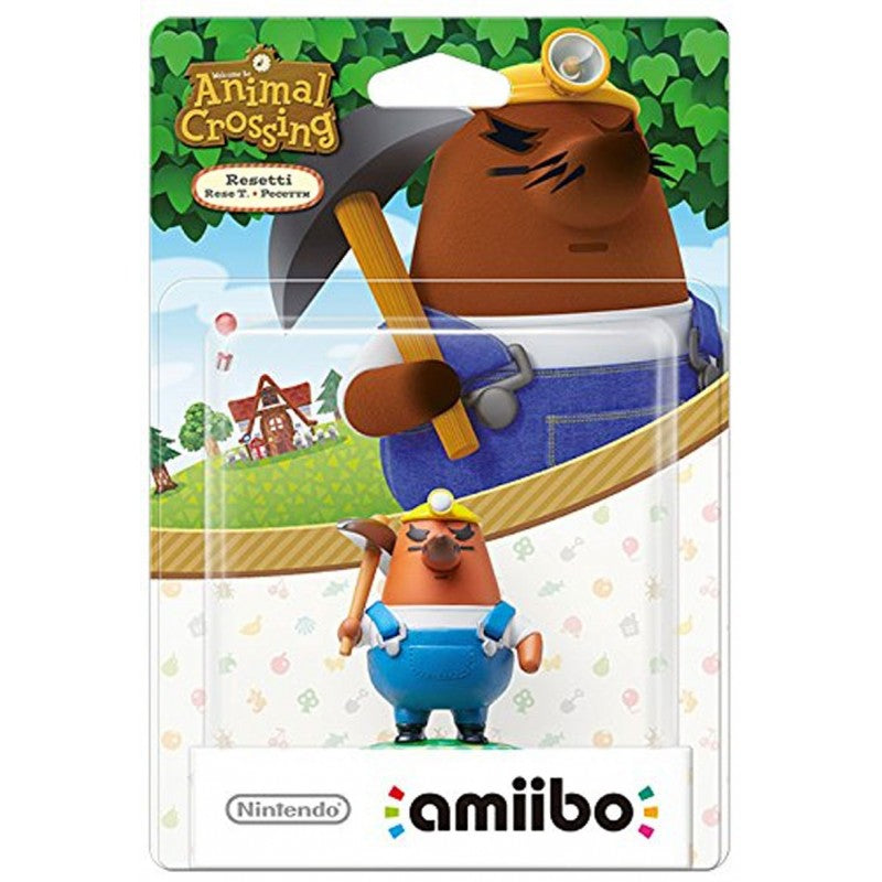 Resetti Amiibo - Animal Crossing Collection