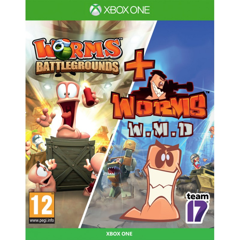 Worms Battlegrounds + Worms WMD (Xbox One)
