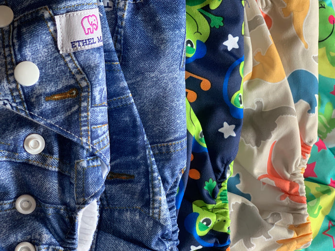 How Many Ethel Mae Cloth Pocket Diapers Does Your Baby Need?