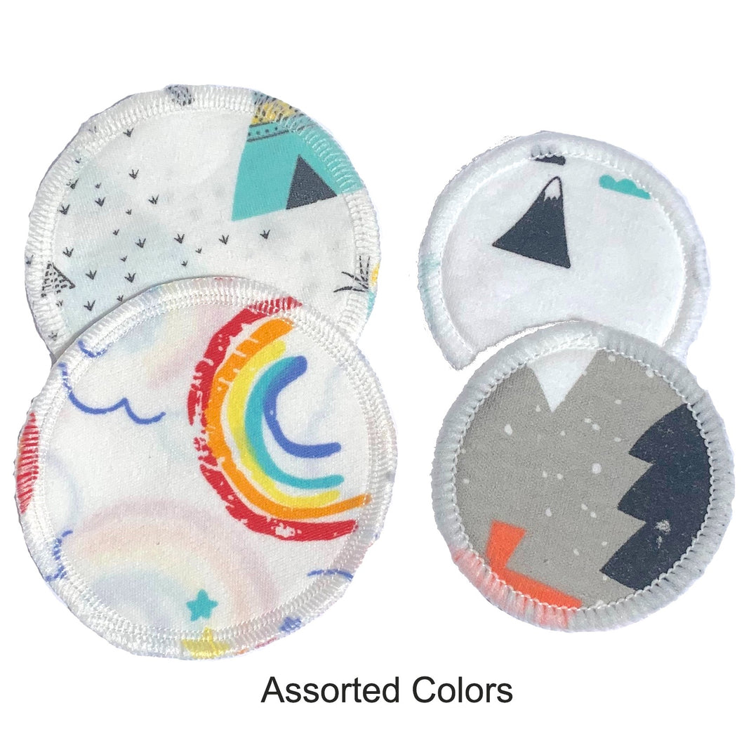 4pk Reusable Makeup Remover Cotton Round Pads